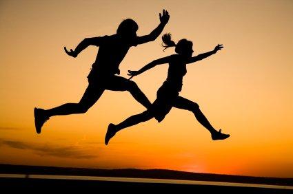 Laufen ist wie Sex, Joggen, Jogging, Running
