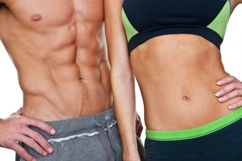 Muskelaufbau und Fettabbau