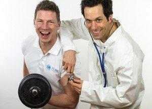 Grünes Licht für die nächsten 17 Trainingsjahre, sagt der Sportarzt...