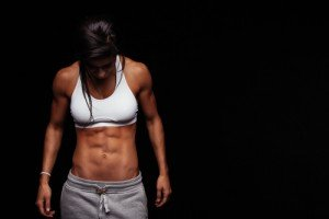 Nackte Muskel Frau Bilder