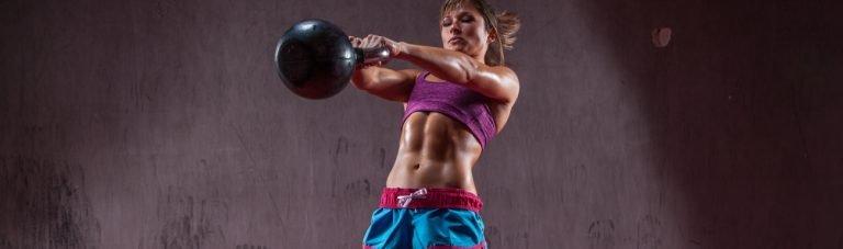 Kettlebell Swing: Muskeldefinition von Po bis Trizeps in 6 Minuten pro Woche