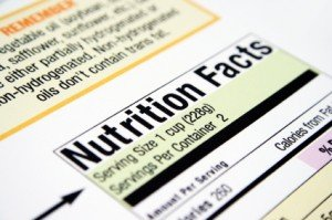 Vergiss die Kalorien Angabe auf Verpackungen!