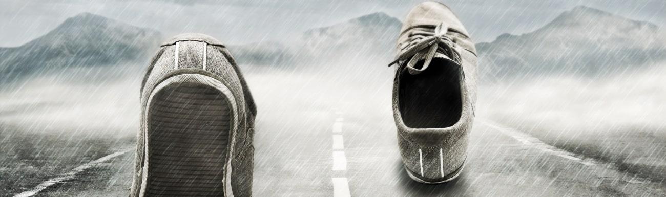 Laufen im Regen lieben lernen in 7 Schritten