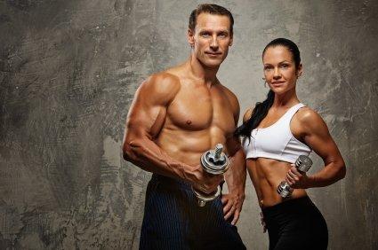 Kraft- und Ausdauertraining formten diese Körper