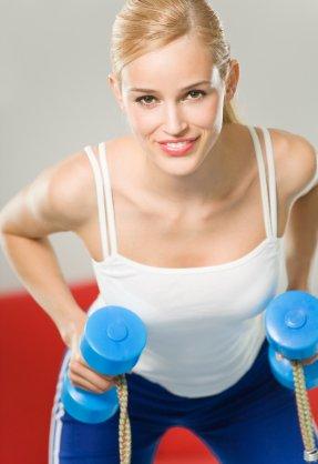 Fitness-Workout für zu Hause