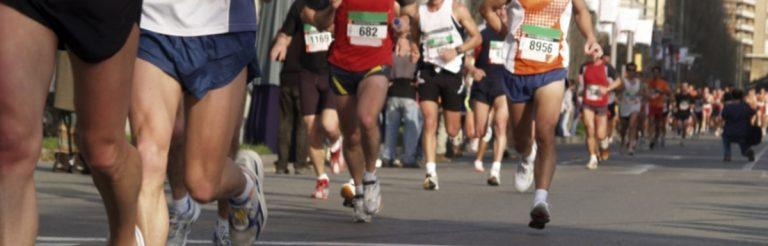 Lauf-Lyrik: Der Marathonstart - Geburtstags-Gedicht für Läufer