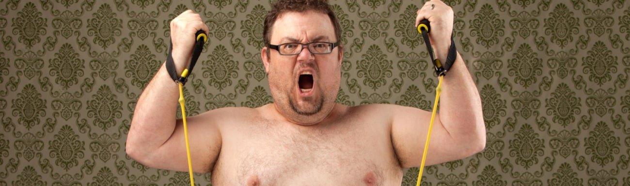 Cardio, um dicke Männer zu verbrennen