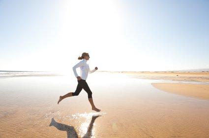Barfuß Laufen gesünder, Barfuß Training, Barfußlauf