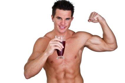 Protein Shake selber machen, Eiweiß Drink Rezept, Muskelaufbau, Abnehmen, leckerer