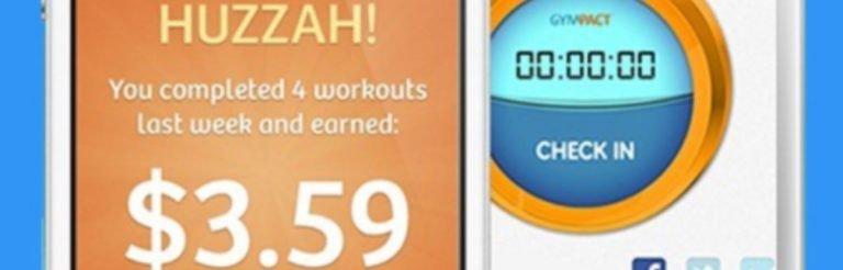 GymPact App: Dein Schweinehund gibt Dir Geld fürs Training?