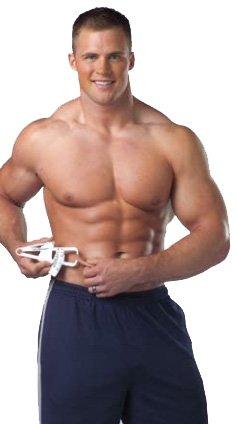 Körperfett messen Caliper 3-Punkt-Messung