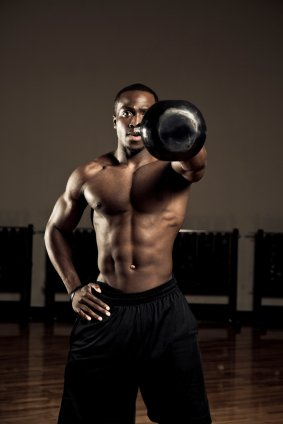 Kettlebell Workout Plan, Einhand Swing