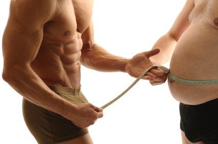 Idealer Körperfettanteil messen