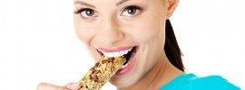 Eiweißriegel Proteinriegel Snack