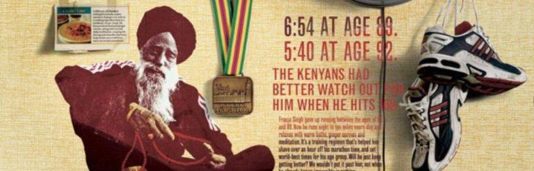 Fauja Singh: Die unglaubliche Geschichte vom 100-jährigen Marathonläufer