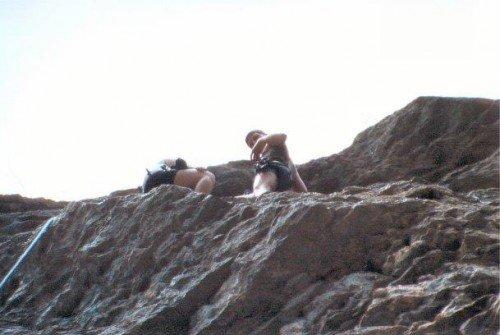 Klettern Komfortzone