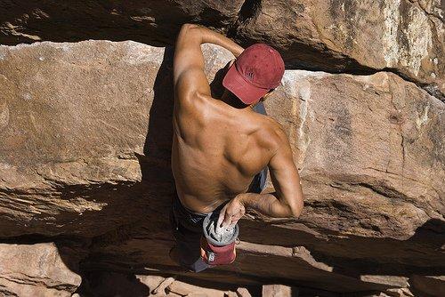 Muskelaufbautraining Kletterer