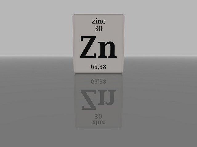 Zink Zinc Mineralstoff