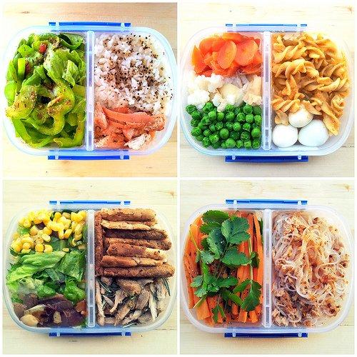 Mahlzeiten am Tag
