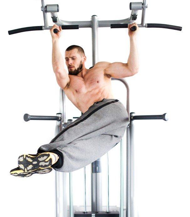 Rumpf-Rotation Sixpack Bauchmuskel Übungen