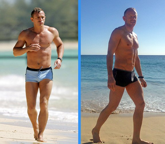 Daniel Craig Workout Training