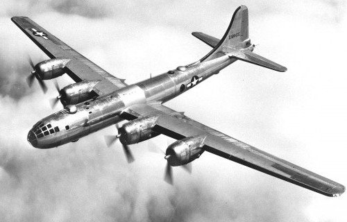 B-29_in_flight
