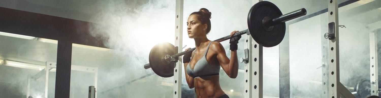 Gewichte zum Abnehmen und Muskelaufbau
