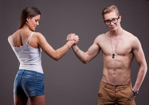 Frau vs. Mann