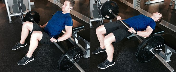 Hip Thrust Barbell