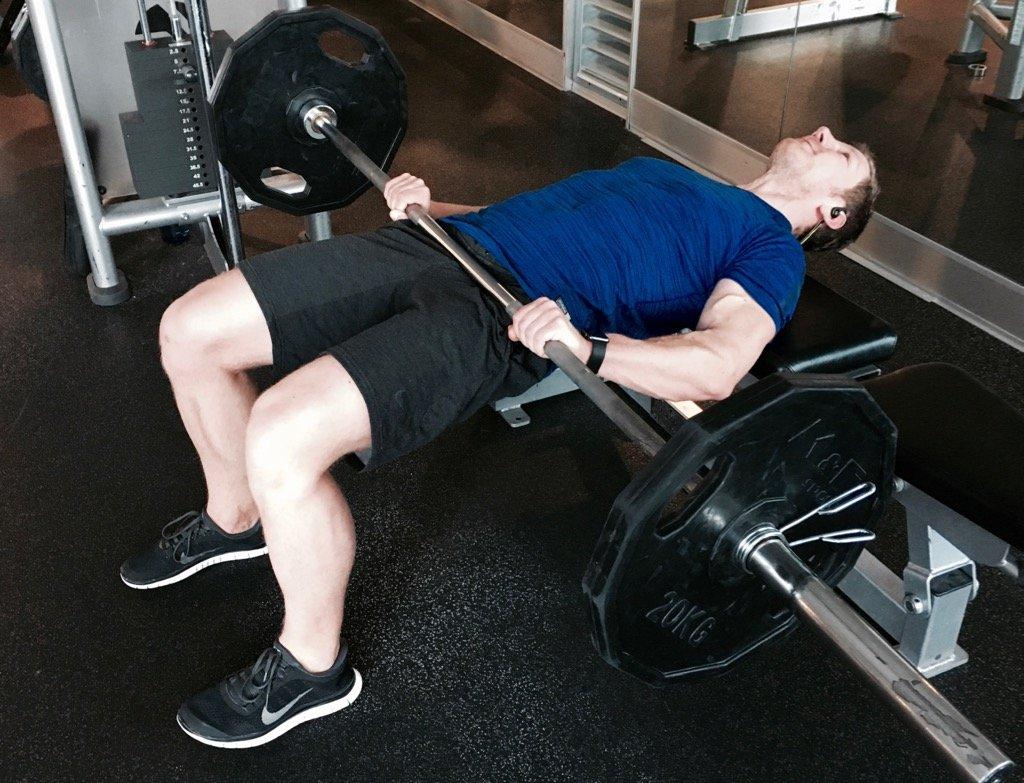 Hip Thrusts Gesäßmuskeln