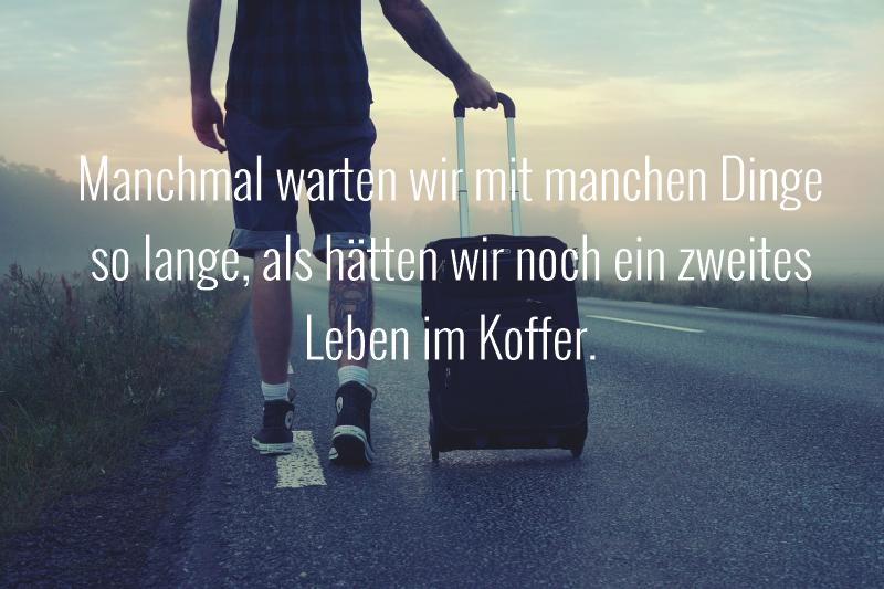 Mann Koffer