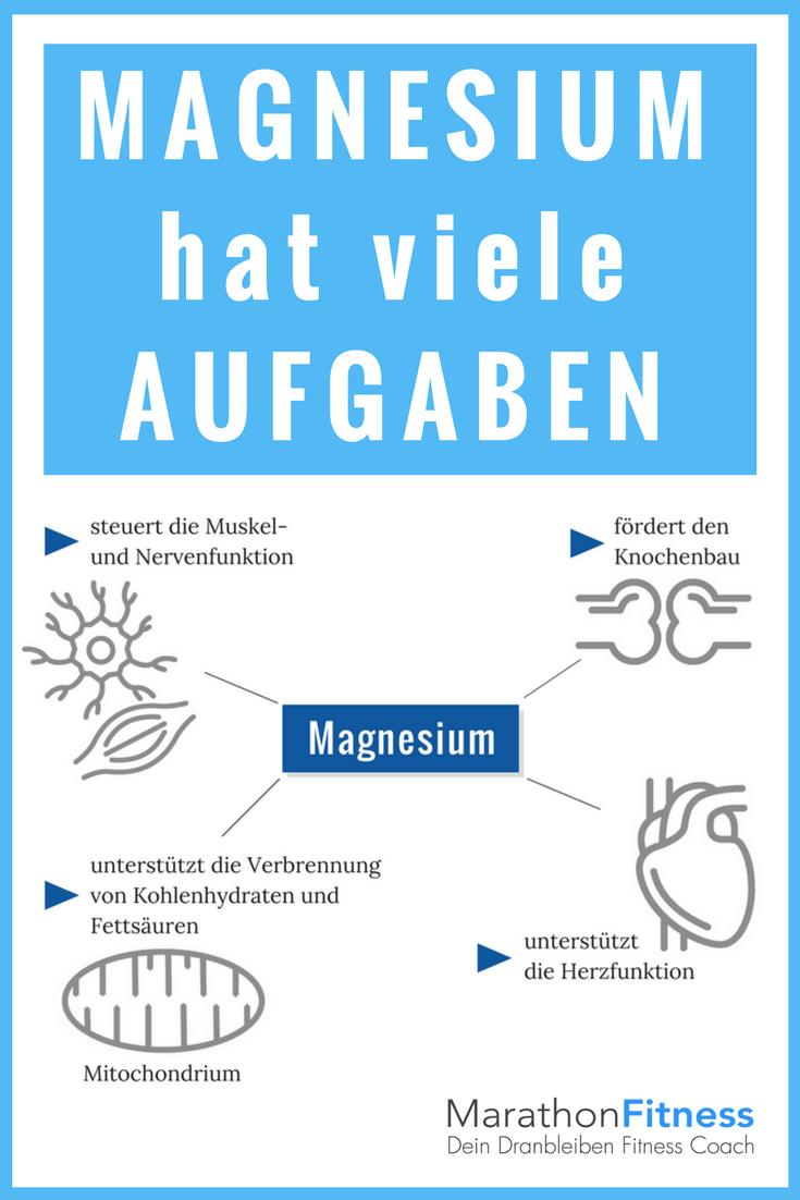 Warum brauchst Du Magnesium?