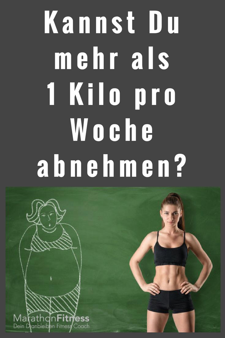 kann man 8 kilo in 2 wochen abnehmen