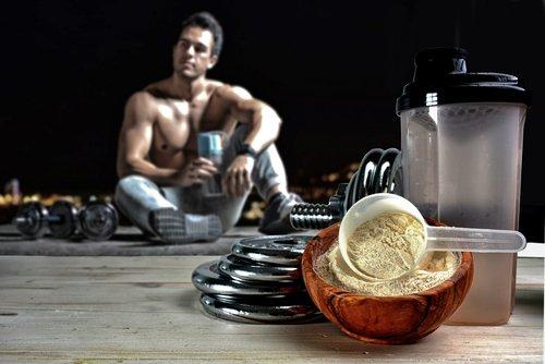 Protein Shake vor oder nach dem Training