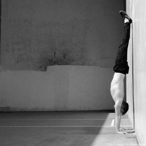 Handstand üben