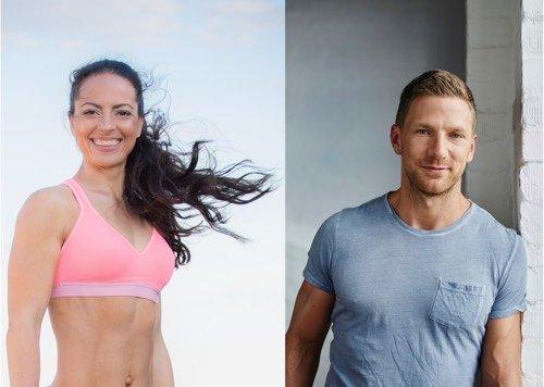Fitness-Fragen mit Jenny und Mark