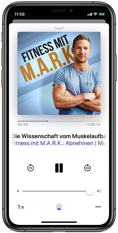 Fitness mit MARK Podcast mit Mark Maslow