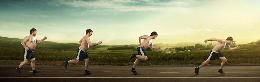 Abnehmen durch Streak Running