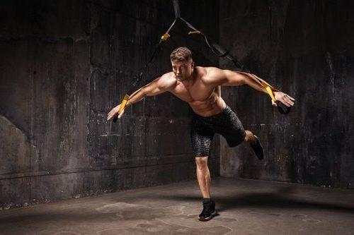 Akrobatisches Sling Training