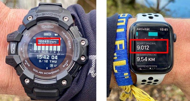 GBD-H1000 vs. Apple Watch 4