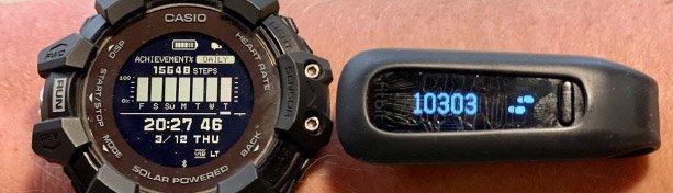 """Casio G-Shock GBD-H1000 im Test: """"Unkaputtbare"""" Laufuhr mit GPS, Marathon-Akku und Tabata-Timer"""