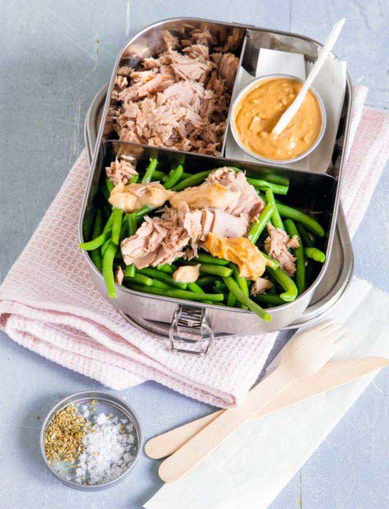 Fitness Mahlzeiten: Grüne Bohnen mit Thunfisch
