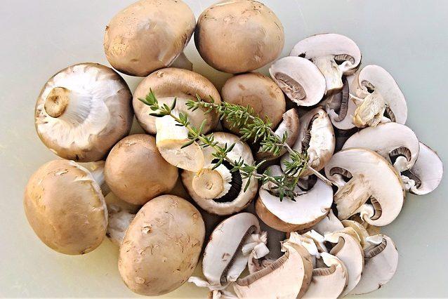 Vitamin D Lebensmittel Champignons