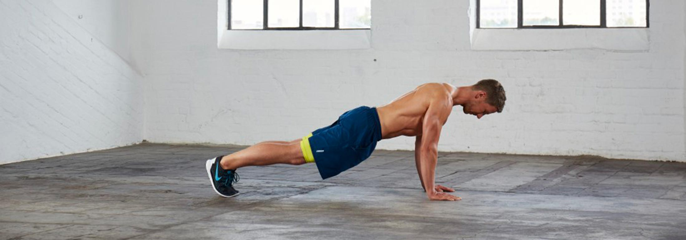 Muskelaufbau Übungen Liegestütze